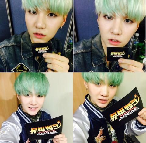 Green Hair Suga 6 12