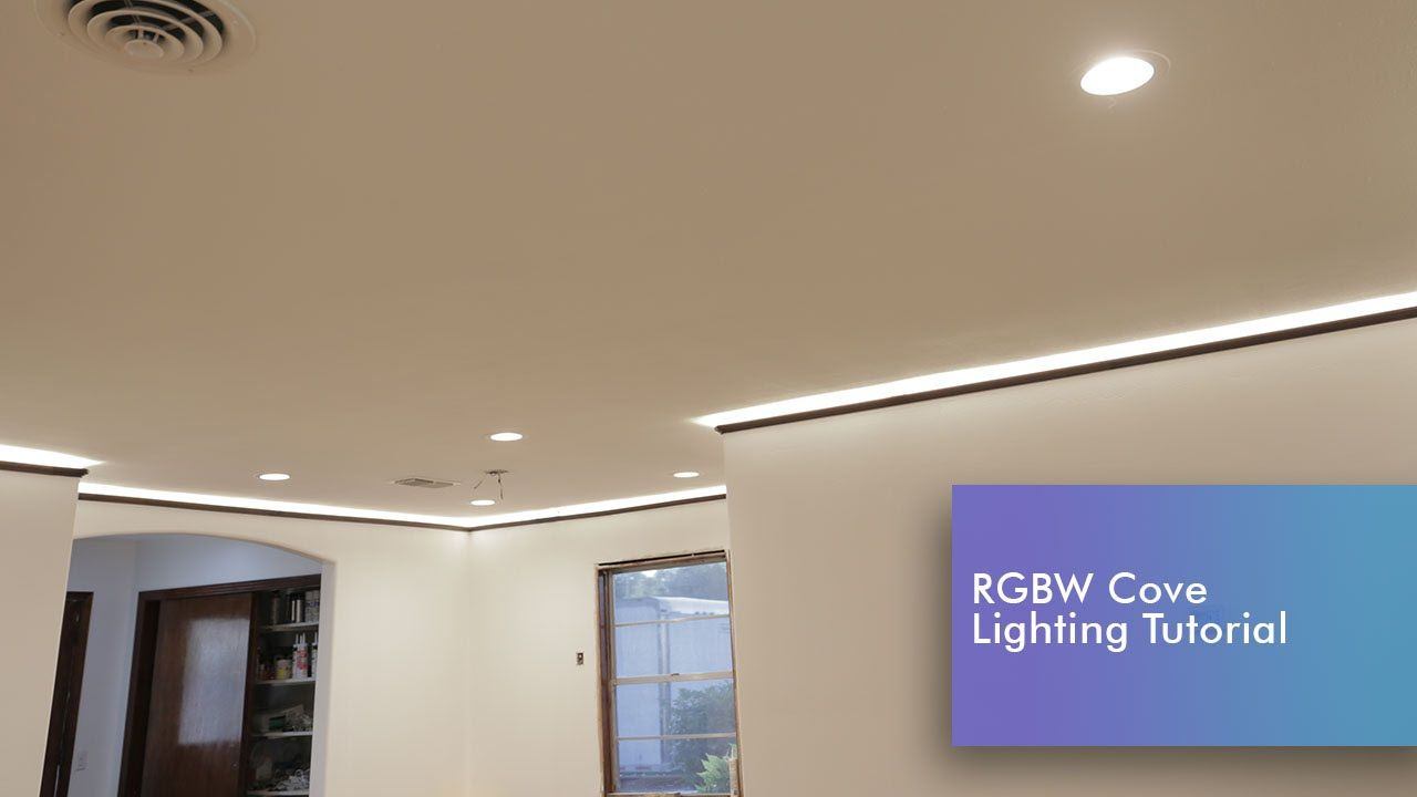 Plastered In Led Lighting Would Look Great As A Kitchen Ceiling Accent And In The Stairwell It Provides Nice A Strip Lighting Cove Lighting Philips Hue Lights