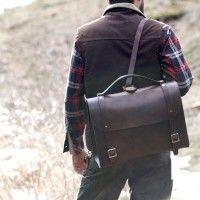 Waylander Backpack on one shoulder - Craft + Lore