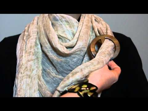 How to Tie Scarf Ring - Cowboy Knot  052fd208d9