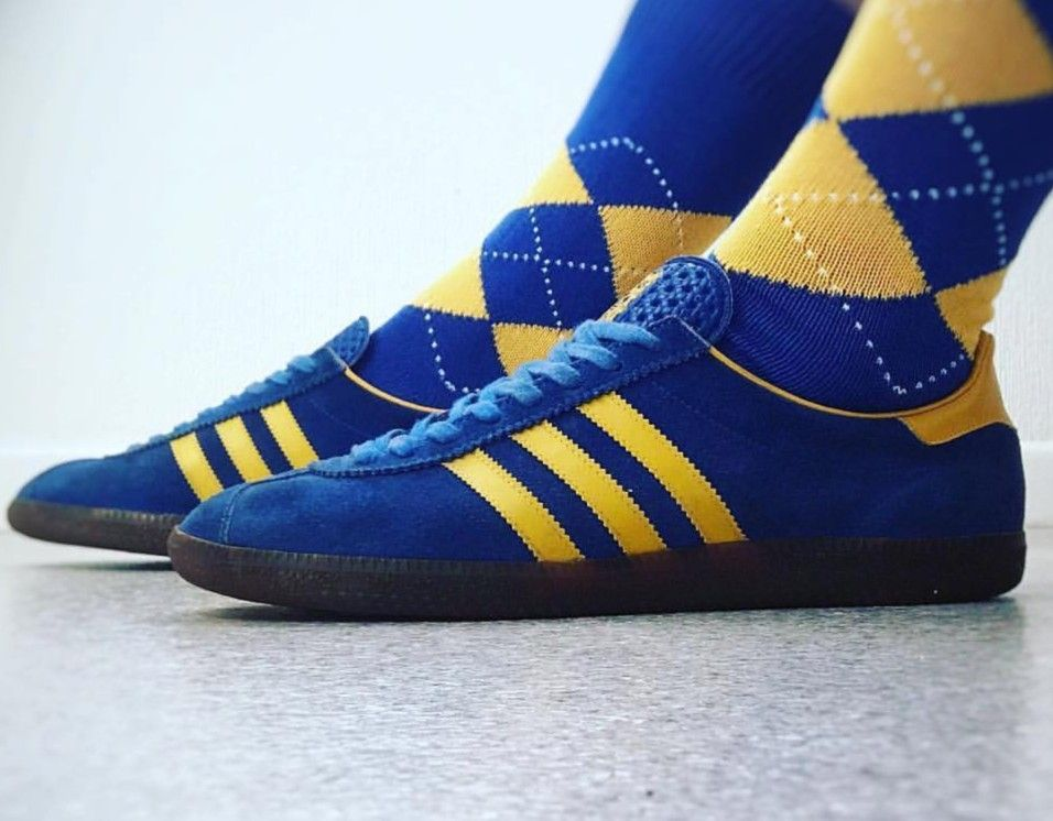 arpón Prescripción flauta  West Germany made Stockholm with the dimpled tongue | Mens socks, Mens  fashion, Football casuals