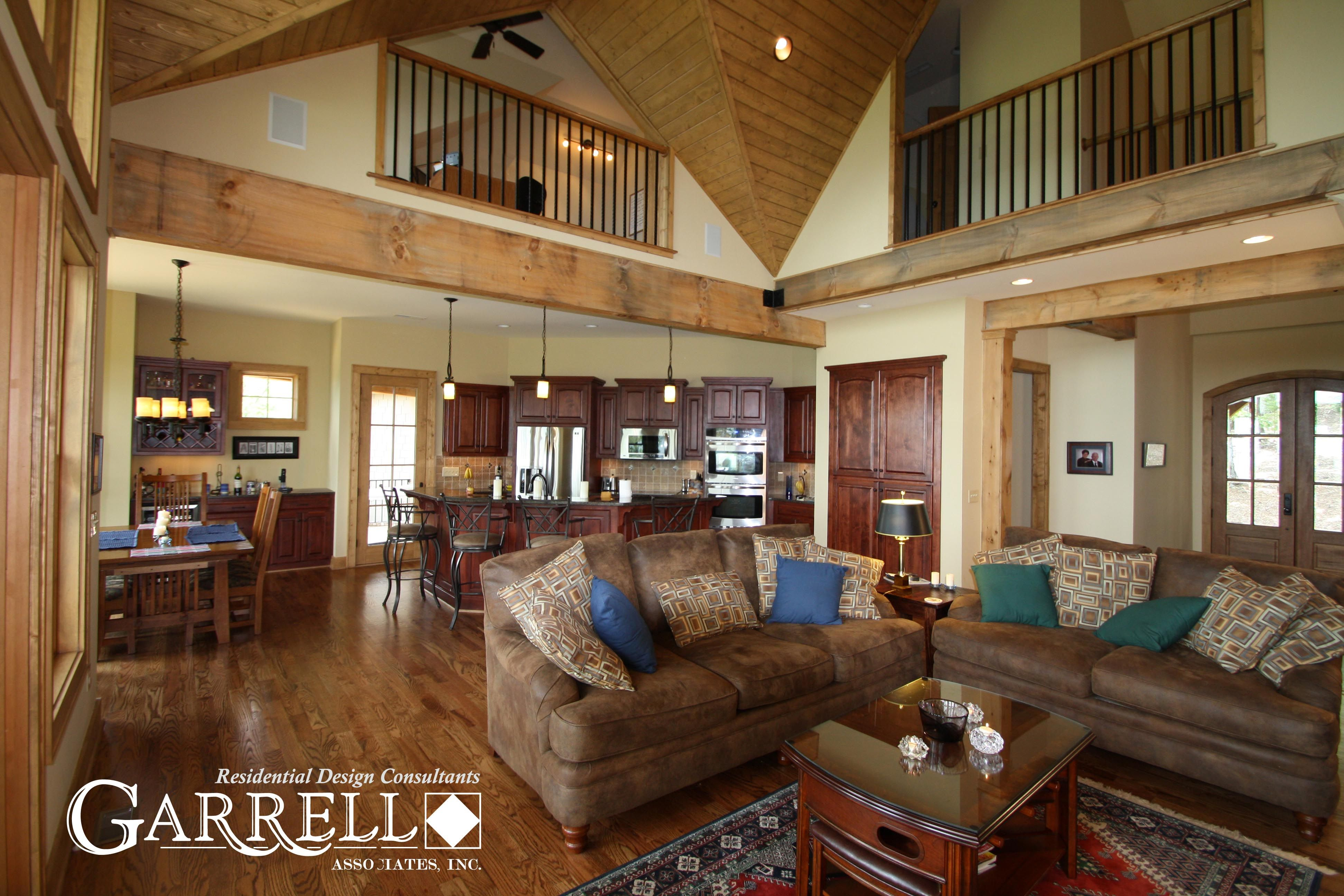 Garrell Associates Inc Hot Springs Cottage House Plan