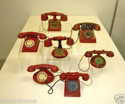 Antique toy phones