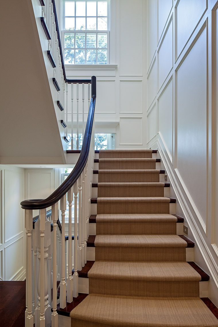 The Exquisitely Scaled Paneling And Stair Details Were