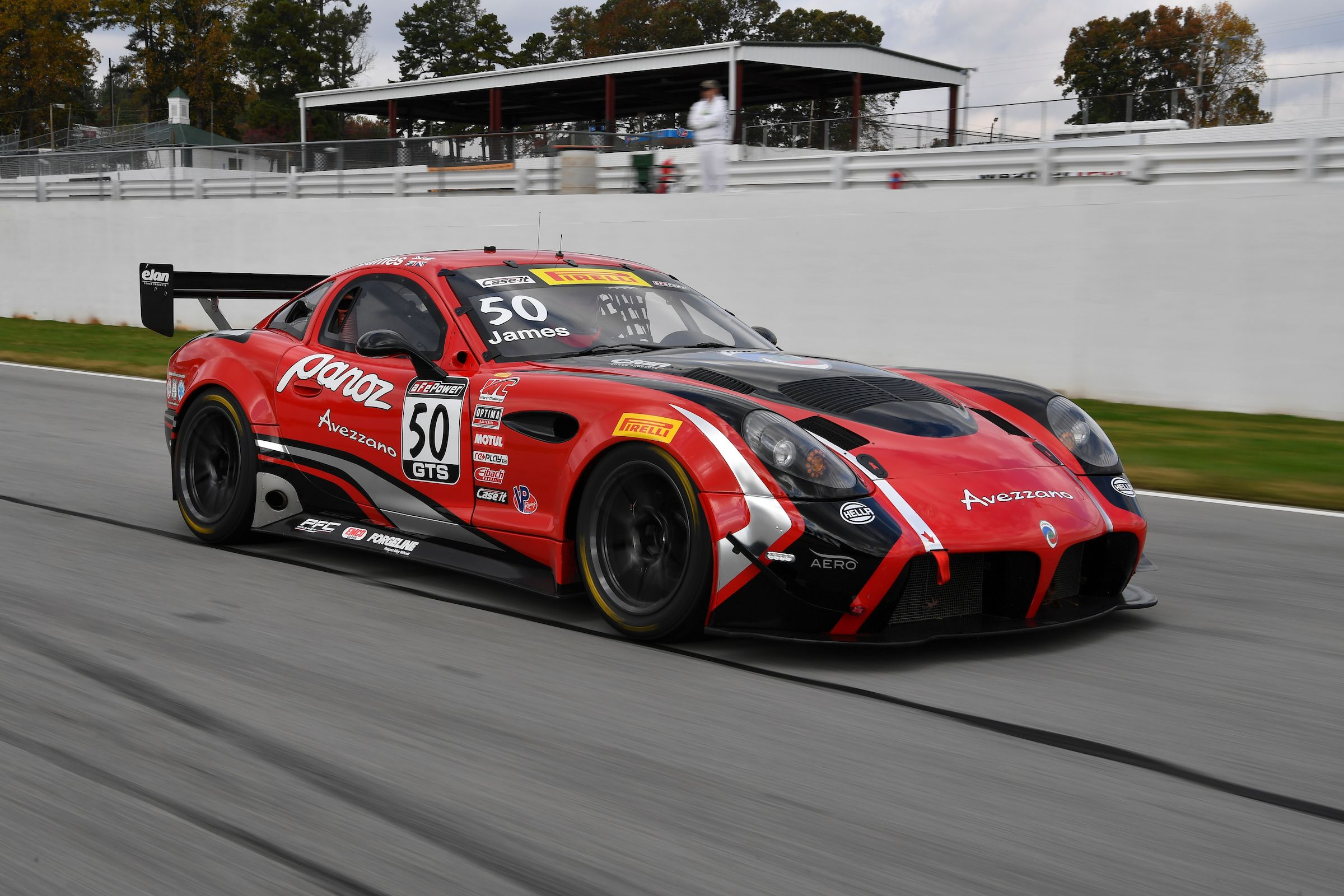 Panoz Announces Second Season of GT Class Racing with Two Car Panoz