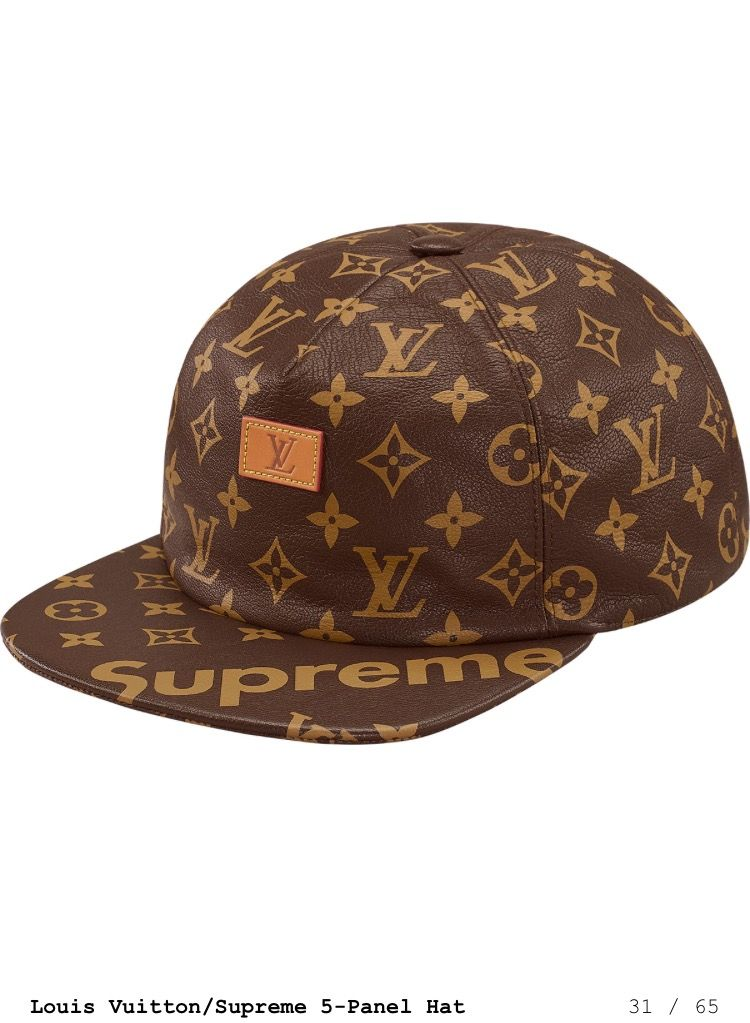 Supreme x Louis Vuitton hat  2a7918ac5fd