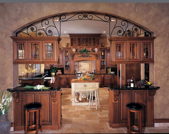Like The Kitchen Layout Cabinets Separating Kitchen From Dining Room And Island In The Middle High End Kitchen Cabinets Home Improvement