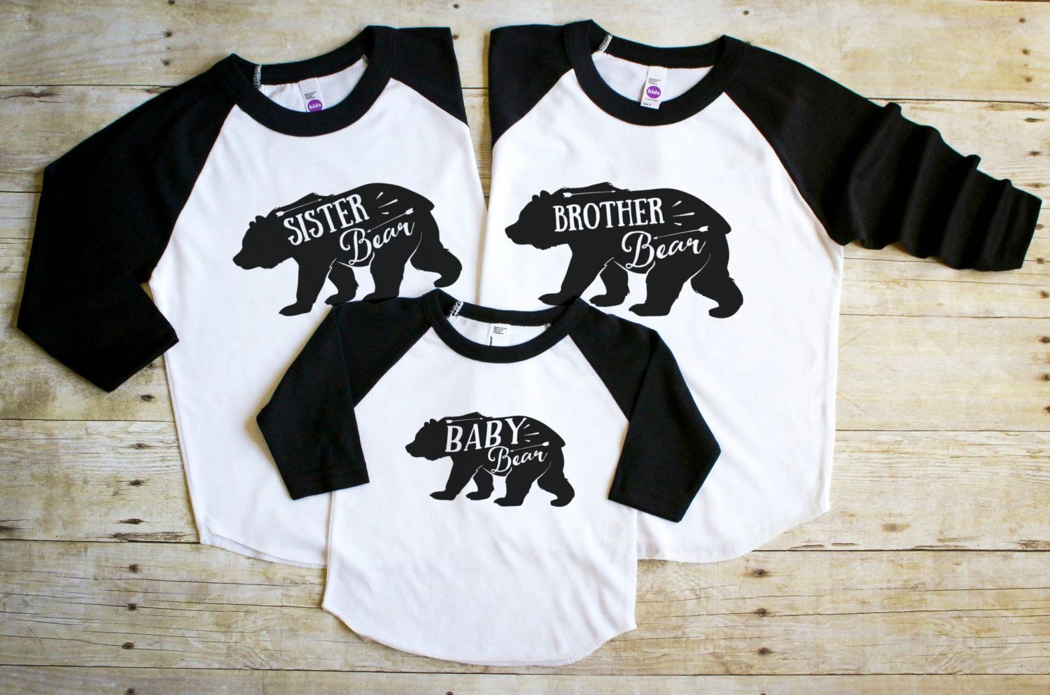 Sibling Shirt Set Brother Sister Baby Bear Shirt Baby Bear Shirt