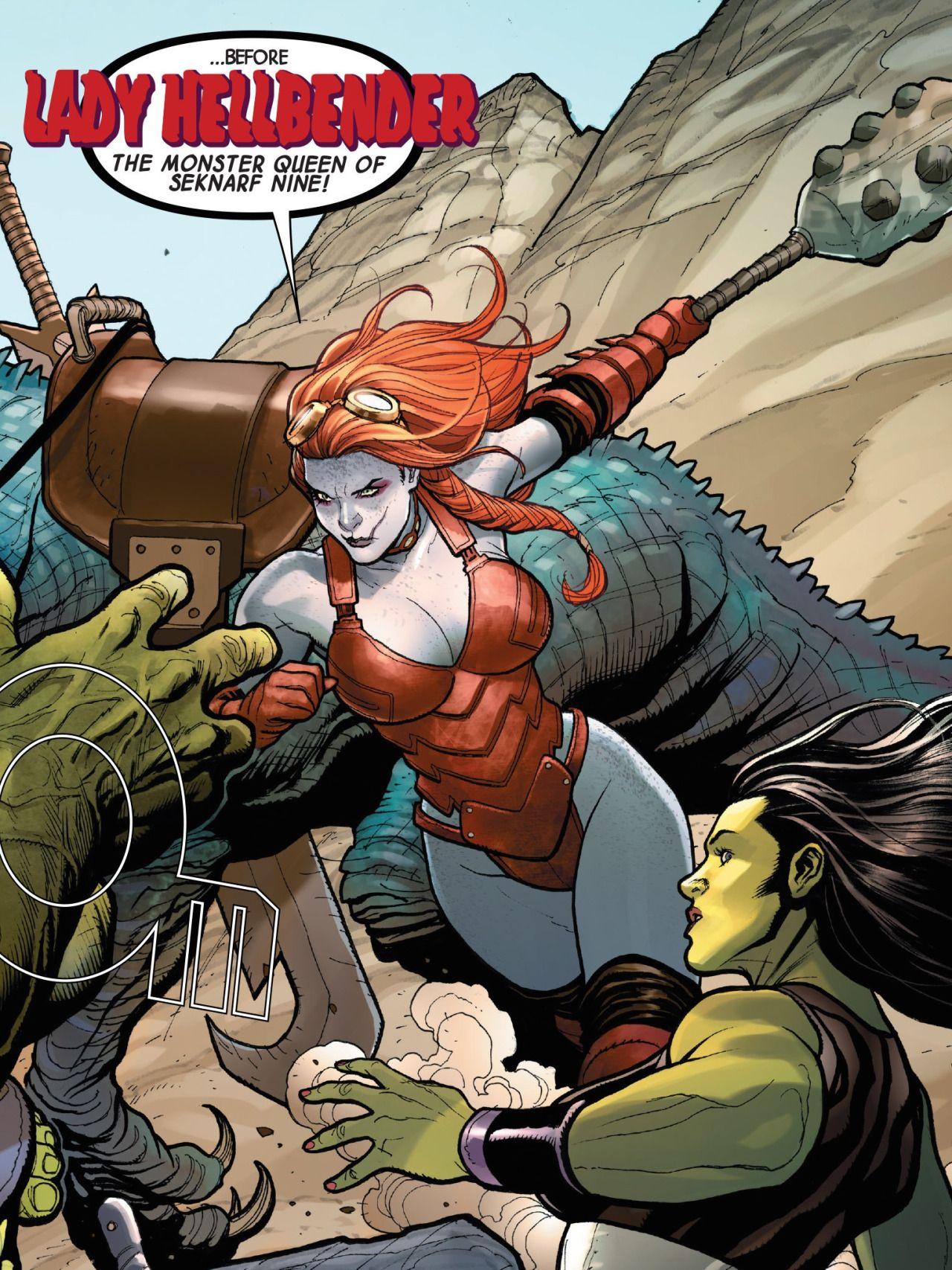 Lady Hellbender   Women of Marvel   Comics girls, Comics, Lady