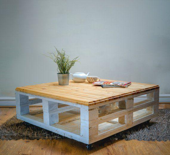 Table Basse Bespoke Palettes De Style Industriel Comme Influence En Grande Bretagne Salon En Palettes Tables En Palettes De Bois Et Table Basse Palette
