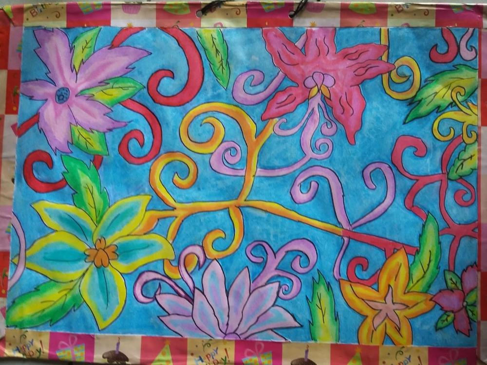 Sempurna Motif Batik Ragam Hias Flora 36 Untuk Inspirasi ...