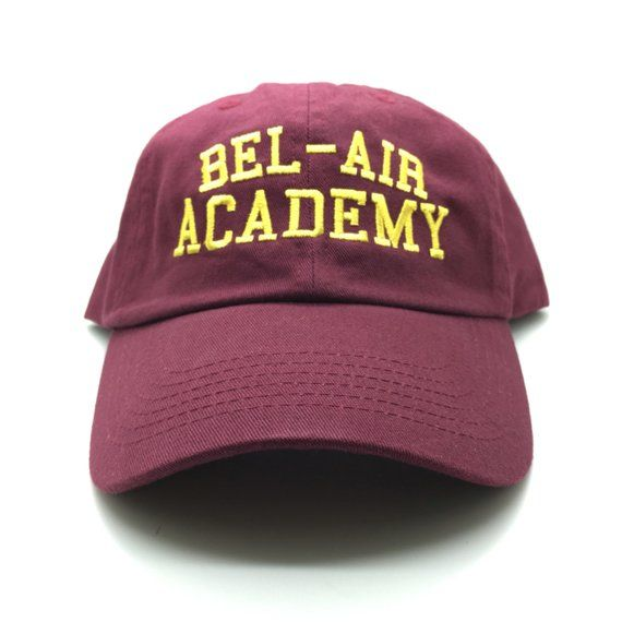 5daa86bf Will Smith Fresh Prince Fabolous Bel-Air Academy Dad Cap Hat 4 Jersey HAT  ONLY