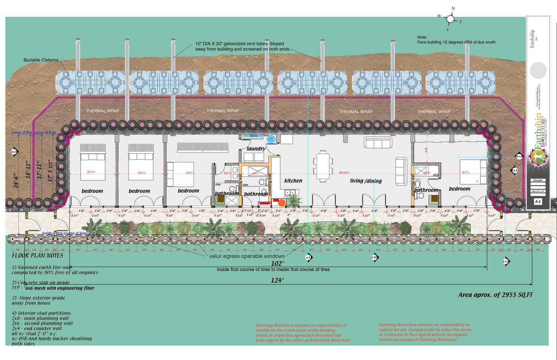 4+bedroom_3+baths+GMjpg.jpg (1500×971) | Earthen Building ...