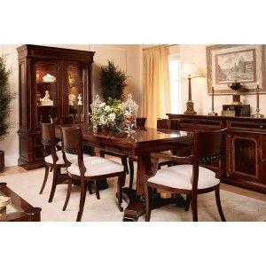 Comedor clasico estilo clasico pinterest comedores for Comedores clasicos modernos