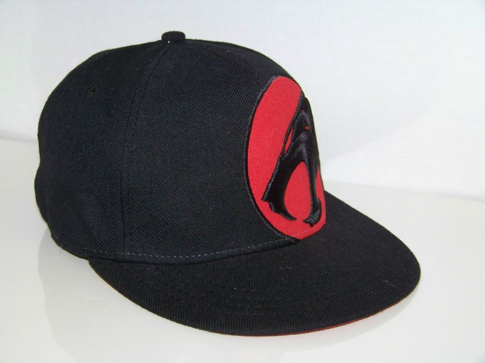ThunderCats Official Comic Hat Cap Snapback Fitted Small Medium S M Black  Red 4cf56292ae2