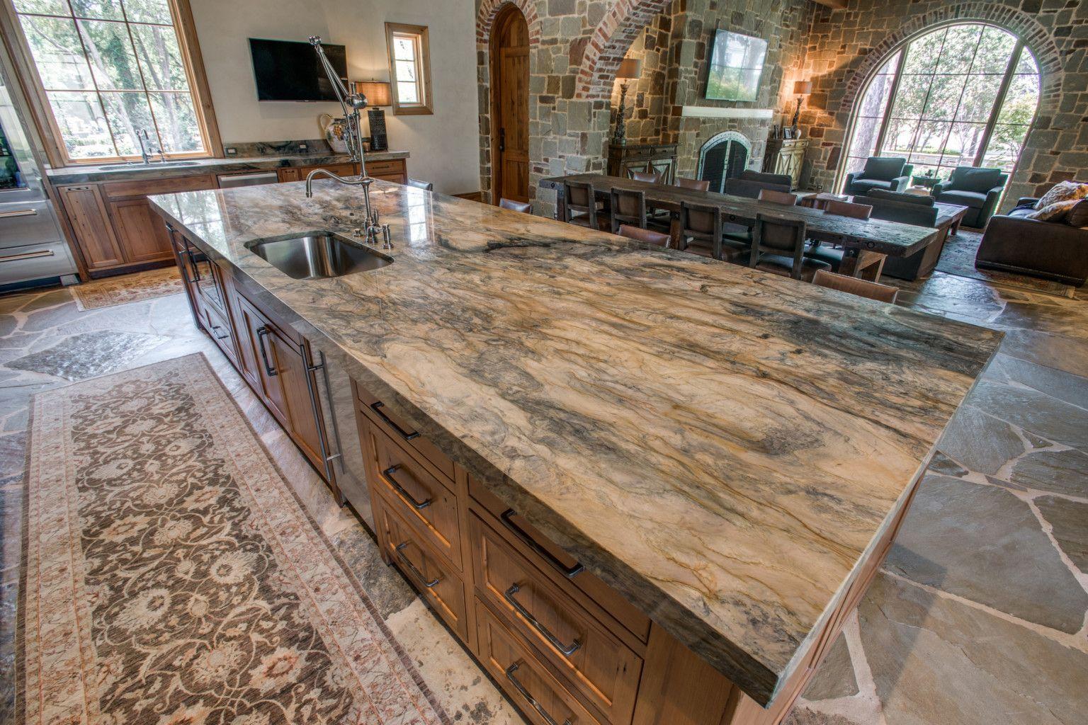 Fusion Quartzite Kitchen Aria Stone Gallery Natural Stone Kitchen Stone Gallery Kitchen Styling
