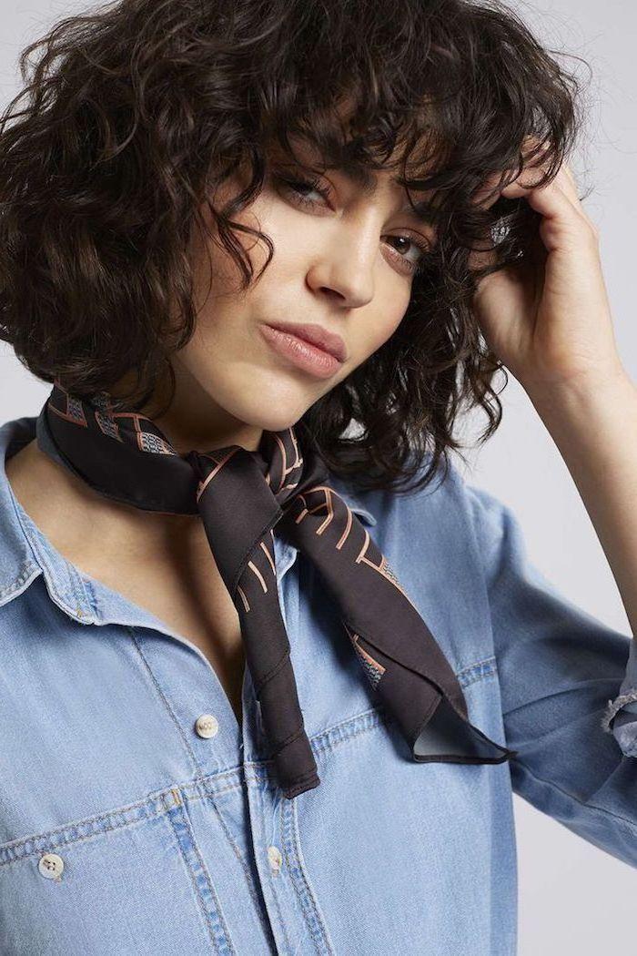 1001 Ideen Für Kurzhaarfrisuren Für Lockiges Haar Moderne