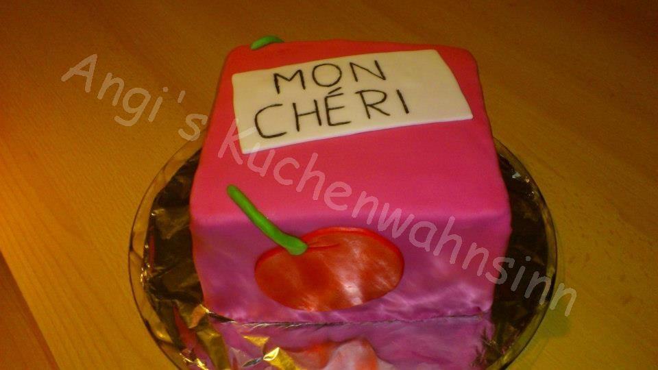 Mon Cheri Kuchen Meine Torten Pinterest