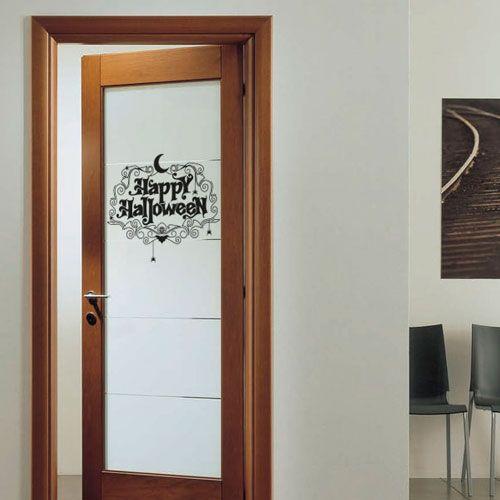 Vinilo para decorar la puerta de entrada a casa y darle la for Vinilos decorativos para entradas
