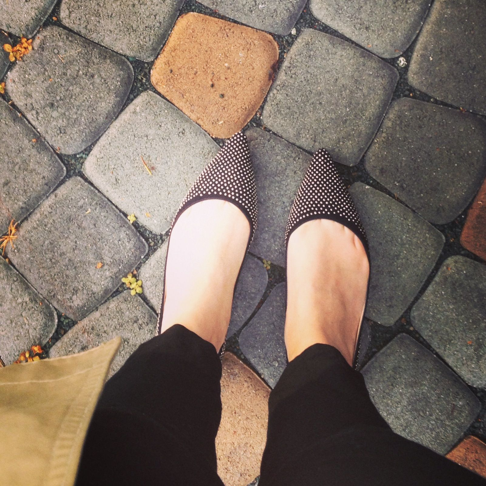 Jimmy choo flats, Fashion forward and comfortable.. Perfect for a mom and aunt on the go!