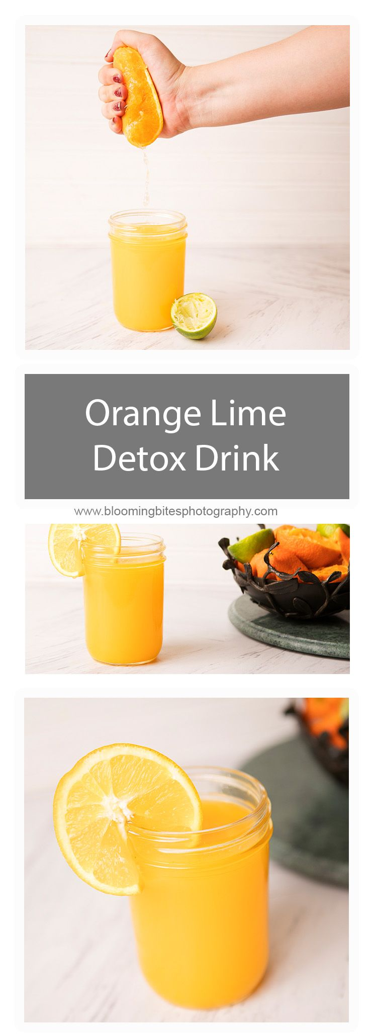 Orange and Lime Detox Drink - Juicing is a great way to start your morning, and this Orange and Lime Detox juice is delicious and a great defense in fighting against illness