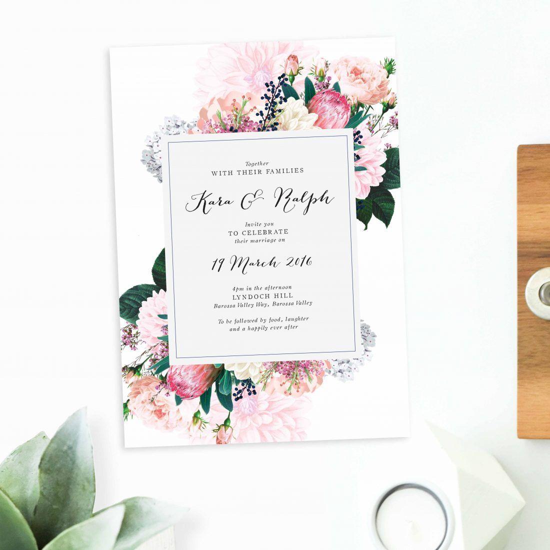 Online Shop - Floral Wedding Invitations   Floral wedding, Floral ...