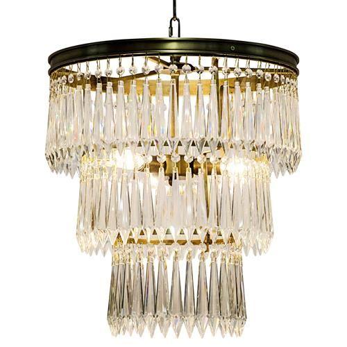 Sheridan regency antique brass 3 tier u drop prism chandelier sheridan regency antique brass 3 tier u drop prism chandelier kathy kuo home aloadofball Gallery