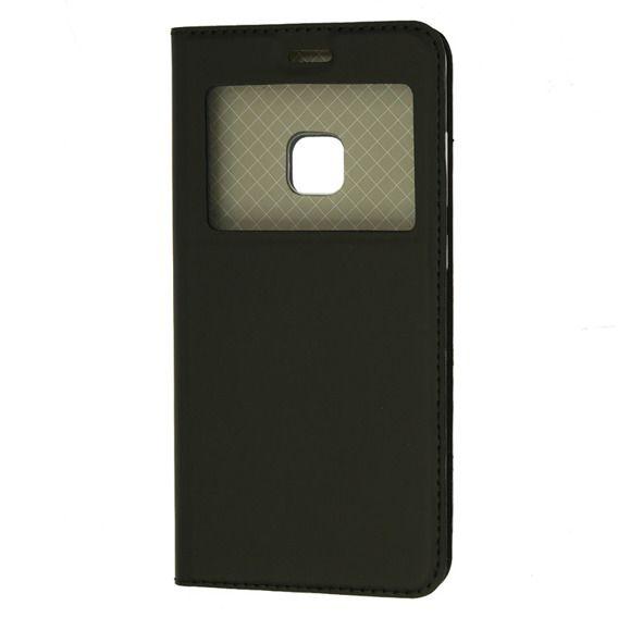 Etui Smart Look View Cover Huawei P10 Lite Czarny Huawei Phone Cases Phone