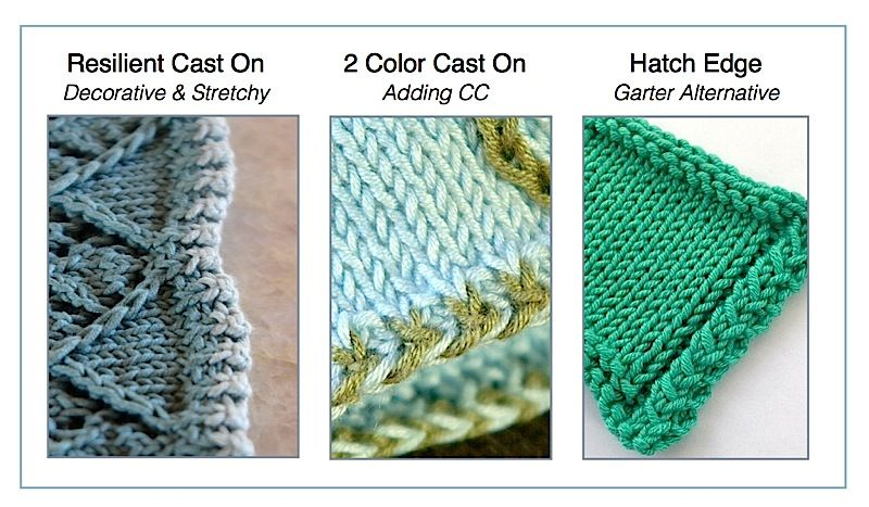 3 fabulous knit edges to try. Free tutorials online ...
