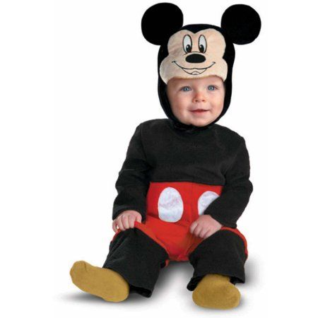 Disney Store Mickey Mouse Plush Baby Costume NWT 40/% $20 Off size 6-12 Months