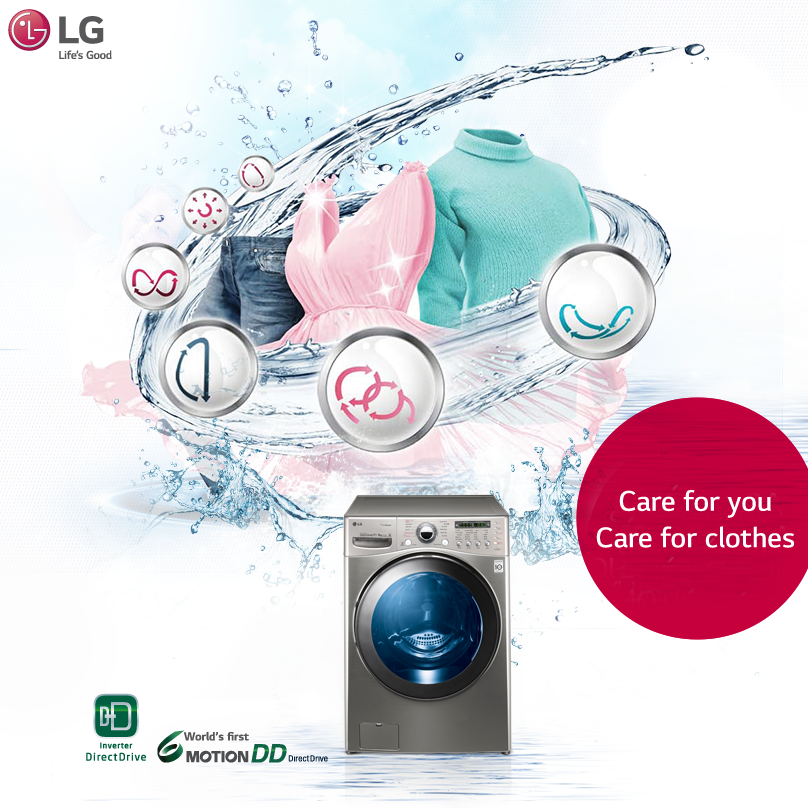 Introducing Lg Washingmachine With World S First 6 Motion