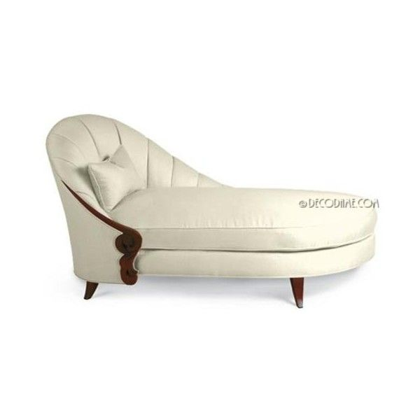 art deco daybeds - chaise lounges found on Polyvore  sc 1 st  Pinterest : art deco chaise lounge - Sectionals, Sofas & Couches
