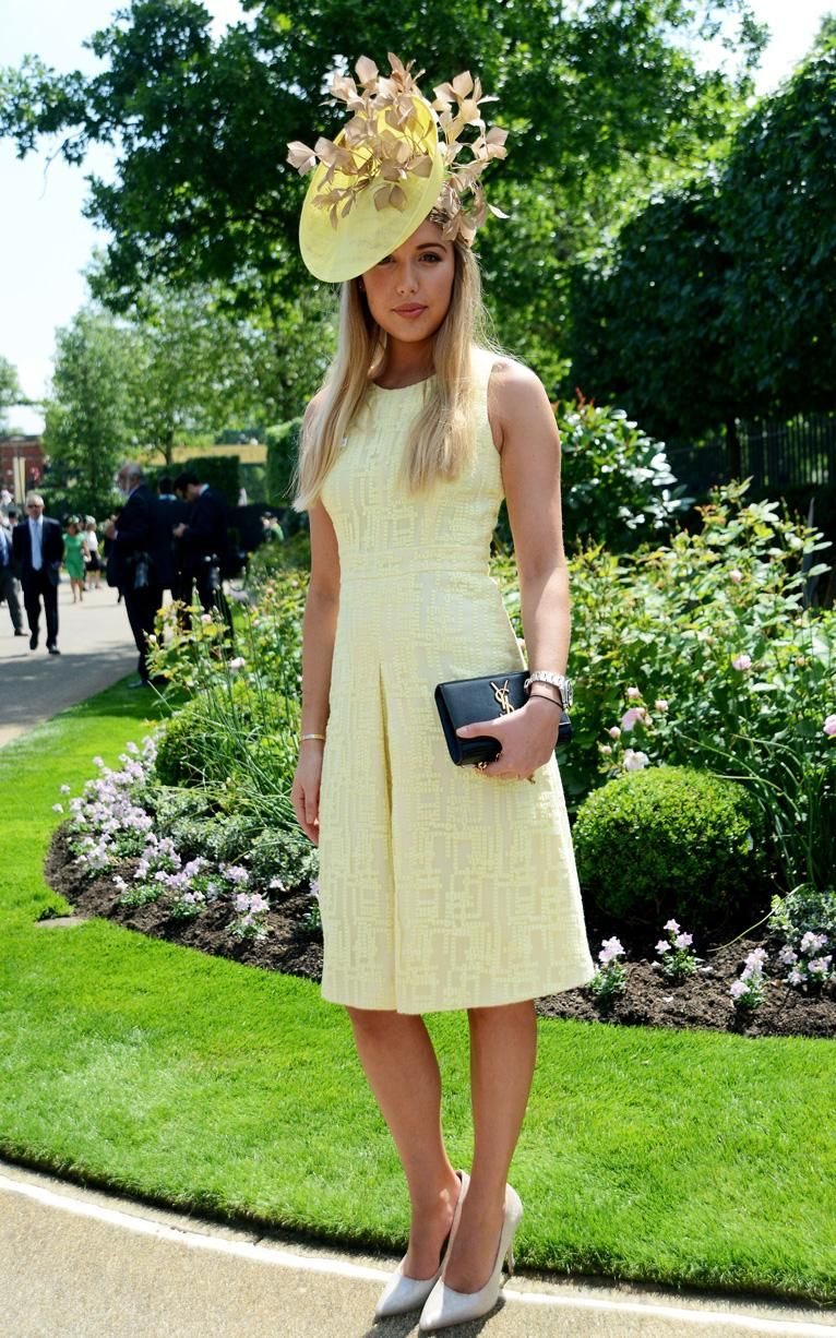 royal ascot's most stylish racegoers  derby outfits