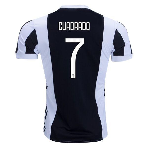 494953470 adidas Juan Cuadrado Juventus Home Jersey 17 18