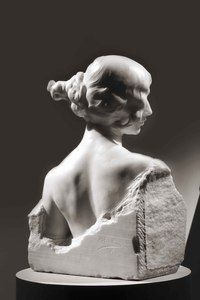 Mariano Benlliure Cleo de Mérode. bust, marble, 1910