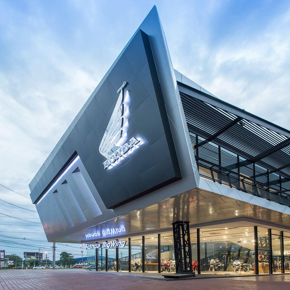 Honda BigWing in 2020 Car showroom architecture, Car
