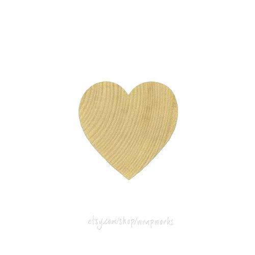 and 1//8 Inch Thick 25 Unfinished Wood Heart Cutouts 1 1//2 x 2 Inches