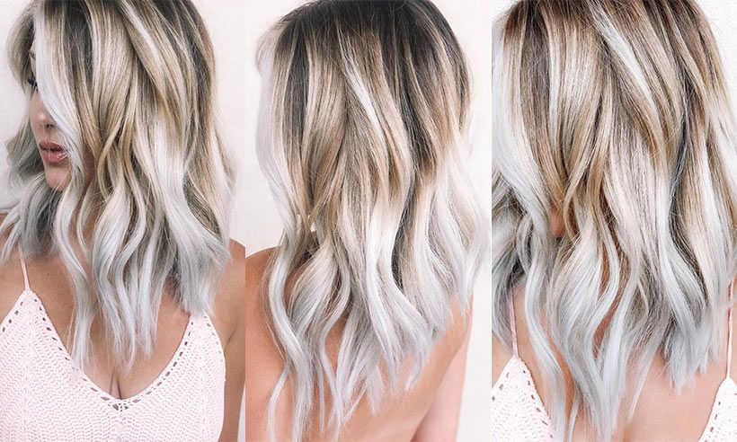 So, 'toasted coconut hair' is taking over your Instagram feed and I'm loving it