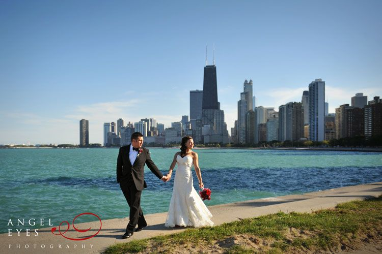 Chicago Wedding North Avenue Beach