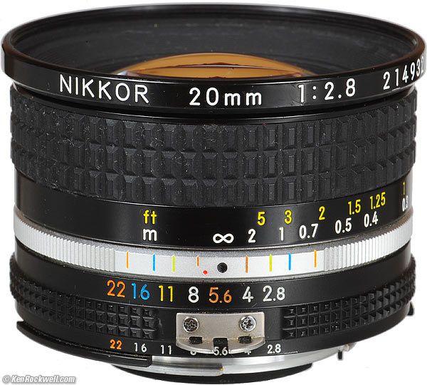 Nikon 20mm F2 8 Ai S Nikon Lenses Nikon Lens Camera Nikon