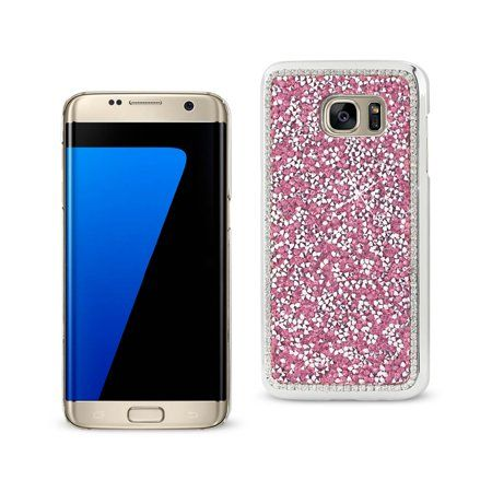 Samsung Galaxy S7 Edge Jewelry Bling Rhinestone Case In Pink - Walmart.com