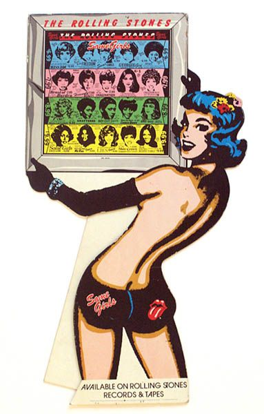 1978 Stones Some Girls retail display