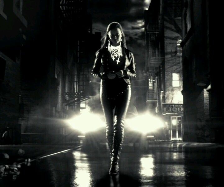 Neo Noir Movies: [Sin City] I Like This Image Because It Shows How, In This