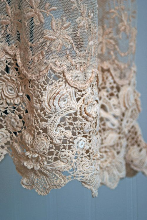 Absolutely Beautiful - 2012 marks the return of lace.  It's not just for wedding gowns anymore!