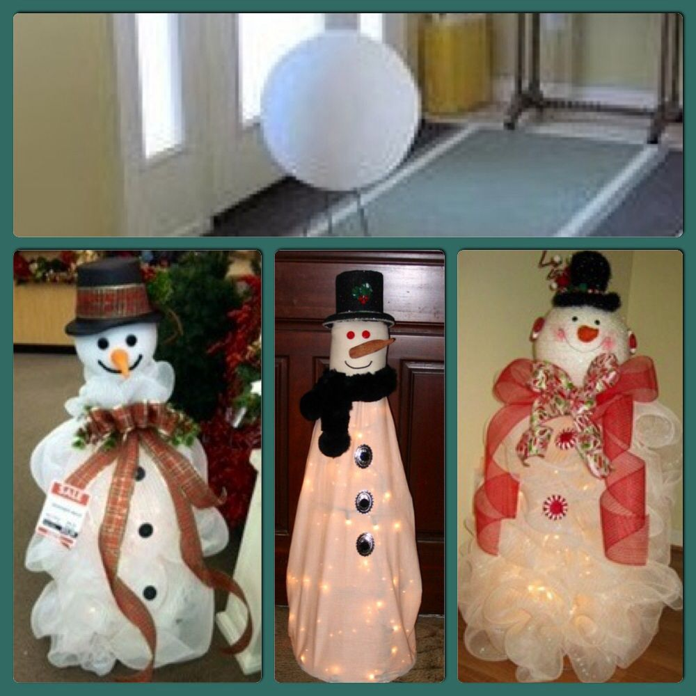 Snowman Tomato Cages Wire Center Christmas Tree Light Wiring Diagram Caroldoey And Of Course A Made From Cage Chicken Rh Ar Pinterest Com Deco Mesh