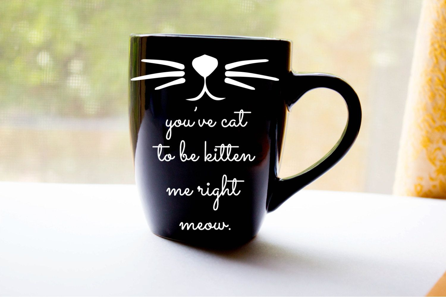 you've cat to be kitten me right meow by foxandcloverboutique, $13.00