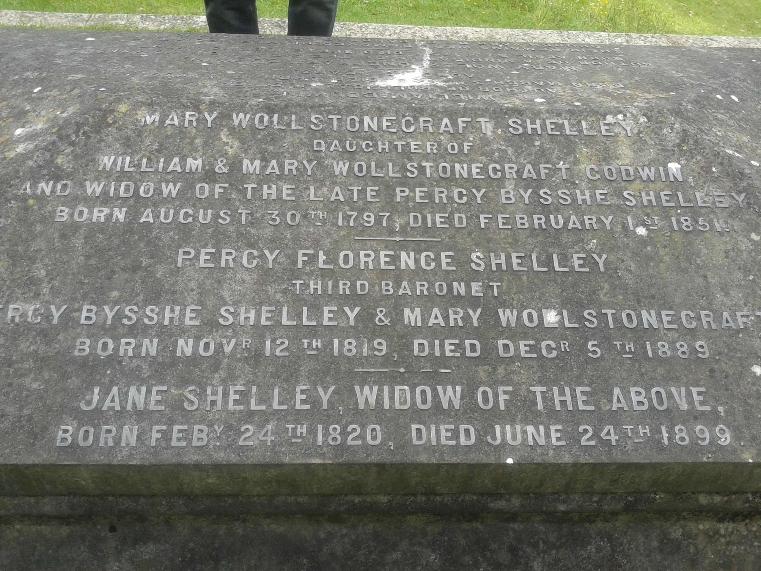 mary shelley background information