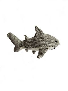 Shark pattern by Two Sisters Teddy Bear | Knitted animals ...