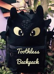 Toothless Backpack (How To Train Your Dragon) FIND IT HERE http://shopee.ph/snapsacks
