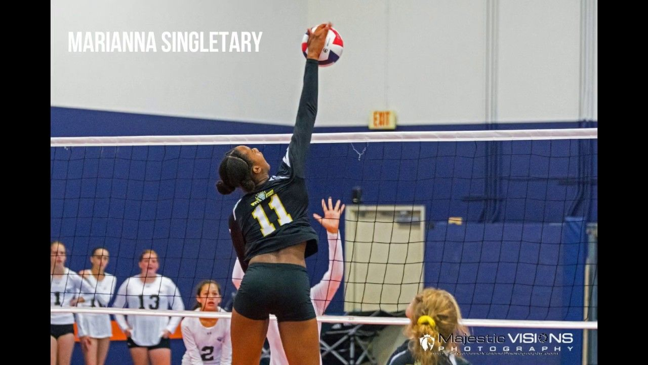 Marianna Singletary Volleyball Class Of 2022 Starletes Com Marianna Volleyball Athlete